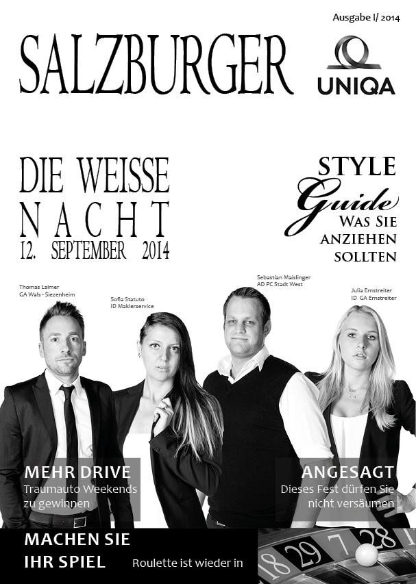 Einladung Uniqa Event Foto Shooting Salzburg