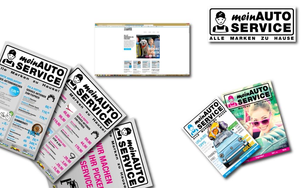 Webdesign, Marke, Logo, Print, Mailling